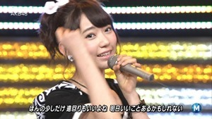 AKB48 - Green Flash (Music Station 2015.02.27).ts - 00031
