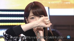 AKB48 - Green Flash (Music Station 2015.02.27).ts - 00036
