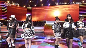 AKB48 - Green Flash (Music Station 2015.02.27).ts - 00042