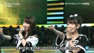 AKB48 - Green Flash (Music Station 2015.02.27).ts - 00064