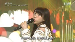 AKB48 - THE MUSIC DAY Part1 (HeavyRotation・Aitakatta).ts - 00011