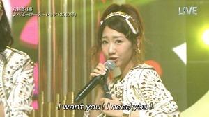 AKB48 - THE MUSIC DAY Part1 (HeavyRotation・Aitakatta).ts - 00012