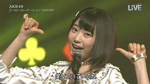 AKB48 - THE MUSIC DAY Part1 (HeavyRotation・Aitakatta).ts - 00016