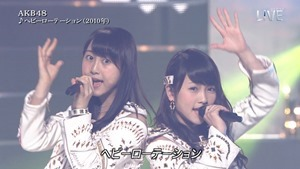 AKB48 - THE MUSIC DAY Part1 (HeavyRotation・Aitakatta).ts - 00020