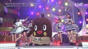 AKB48 - THE MUSIC DAY Part2 (48G Medley).ts - 00035
