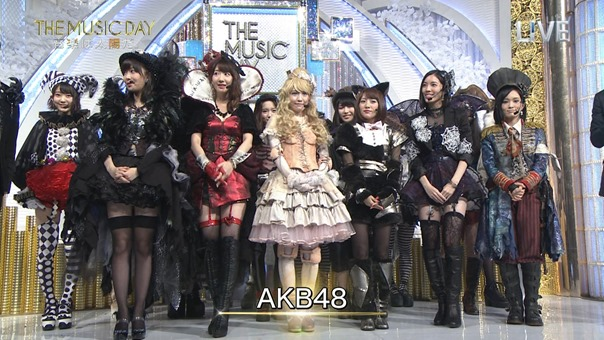 AKB48 - THE MUSIC DAY Part3 (Halloween・Night).ts - 00008