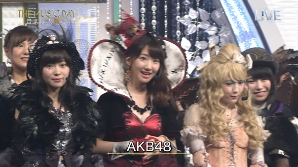 AKB48 - THE MUSIC DAY Part3 (Halloween・Night).ts - 00011