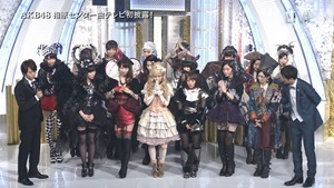 AKB48 - THE MUSIC DAY Part3 (Halloween・Night).ts - 00017