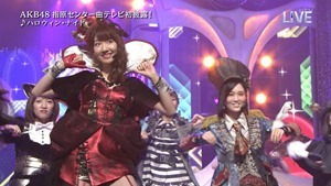 AKB48 - THE MUSIC DAY Part3 (Halloween・Night).ts - 00035