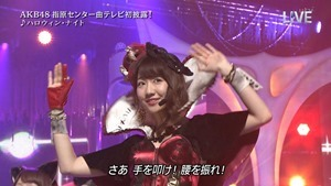 AKB48 - THE MUSIC DAY Part3 (Halloween・Night).ts - 00052