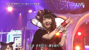AKB48 - THE MUSIC DAY Part3 (Halloween・Night).ts - 00053