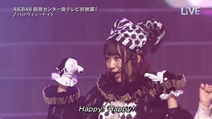 AKB48 - THE MUSIC DAY Part3 (Halloween・Night).ts - 00061