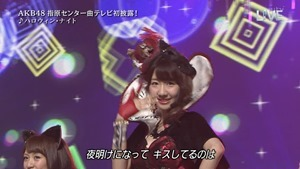 AKB48 - THE MUSIC DAY Part3 (Halloween・Night).ts - 00062