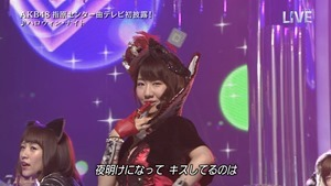 AKB48 - THE MUSIC DAY Part3 (Halloween・Night).ts - 00063