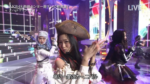AKB48 - THE MUSIC DAY Part3 (Halloween・Night).ts - 00074
