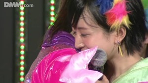 NMB48 150524 N3 LOD 1730 (Kashiwagi Yuki send off).wmv - 00688