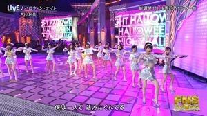 AKB48 - Halloween Night (FNS Uta no Natsu Matsuri 150729).ts - 00010