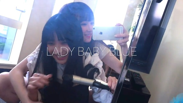 "【Full ver.】""LADY BABY BLUE "" The Idol Formerly Known As LADYBABY【作詞・作曲:大森靖子】 - YouTube.MP4 - 00080"
