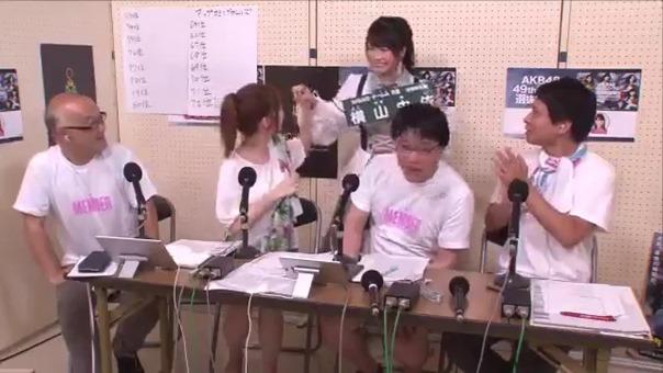2017 06 17 SHOWROOM 第9回AKB48総選挙SHOWROOM裏生配信 MC柏木由紀.mp4 - 00038