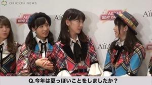 AKB48、新作音楽ゲームアプリをアピール 柏木由紀はNGT48メンバーとバーベキューしたことも告白 アイア 音楽ゲームアプリ『AKB48ビートカーニバル』記者発表会.MP4 - 00034
