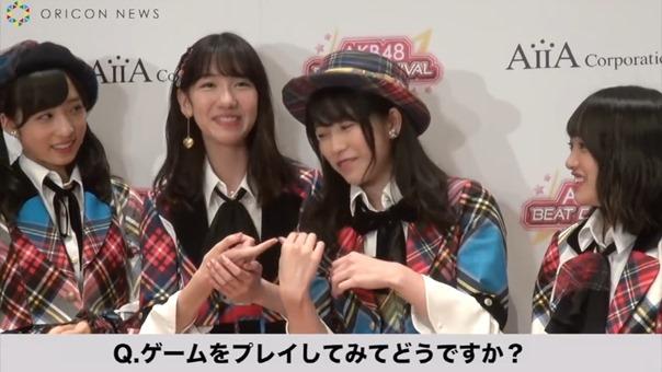 AKB48、新作音楽ゲームアプリをアピール 柏木由紀はNGT48メンバーとバーベキューしたことも告白 アイア 音楽ゲームアプリ『AKB48ビートカーニバル』記者発表会.MP4 - 00014