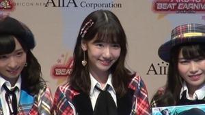 AKB48、新作音楽ゲームアプリをアピール 柏木由紀はNGT48メンバーとバーベキューしたことも告白 アイア 音楽ゲームアプリ『AKB48ビートカーニバル』記者発表会.MP4 - 00001