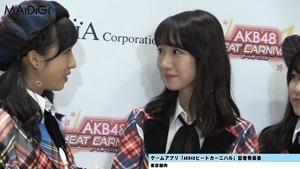 """AKB48柏木由紀、秋元康公認の""""おつぼねババア""""宣言 指原莉乃と「ずぶとくいる」 「AKB48ビートカーニバル」記者発表会4.MP4 - 00041"""