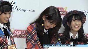 """AKB48柏木由紀、秋元康公認の""""おつぼねババア""""宣言 指原莉乃と「ずぶとくいる」 「AKB48ビートカーニバル」記者発表会4.MP4 - 00127"""