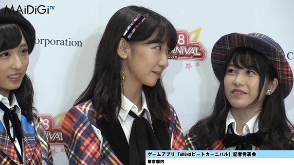 """""""音ゲーマニア""""柏木由紀、小学時代は「観衆集めるぐらい」「AKB48ビートカーニバル」記者発表会3.MP4 - 00033"""