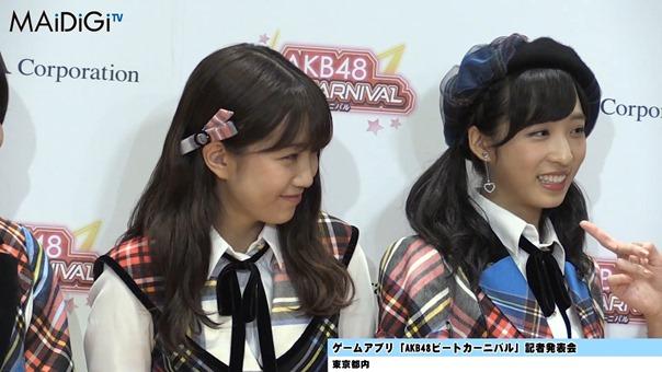"""""""音ゲーマニア""""柏木由紀、小学時代は「観衆集めるぐらい」「AKB48ビートカーニバル」記者発表会3.MP4 - 00159"""