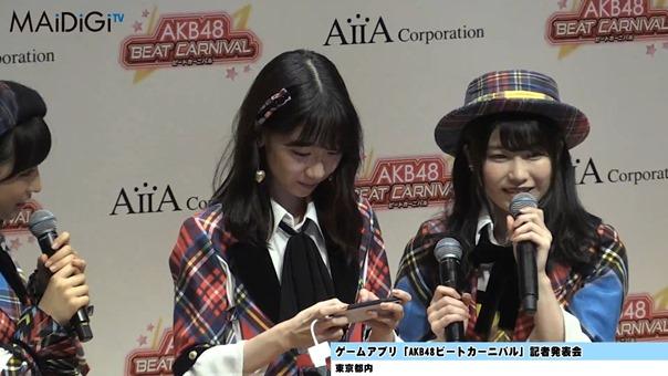 柏木由紀、音ゲーで見事な腕前を披露!「AKB48ビートカーニバル」記者発表会2.MP4 - 00093