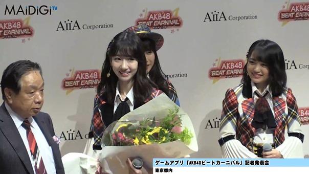 横山由依、柏木由紀らと「AKB48ビートカーニバル」をアピール 「AKB48ビートカーニバル」記者発表会1.MP4 - 00003