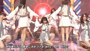 AKB48 - NO WAY MAN   Talk (Best Hits! Kayousai 2018 2018.11.15).ts - 00147