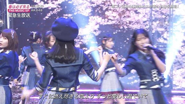 AKB48 - 10nen Zakura   Talk (FNS Ongaku Tokubetsu Bangumi 2020.03.21).ts - 00;39;59.801