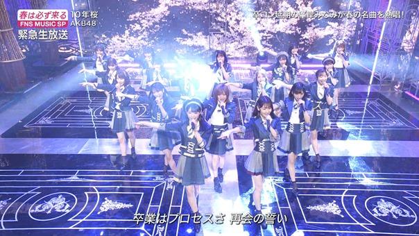 AKB48 - 10nen Zakura   Talk (FNS Ongaku Tokubetsu Bangumi 2020.03.21).ts - 00;57;09.555