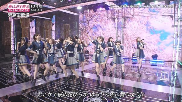AKB48 - 10nen Zakura   Talk (FNS Ongaku Tokubetsu Bangumi 2020.03.21).ts - 01;02;22.945