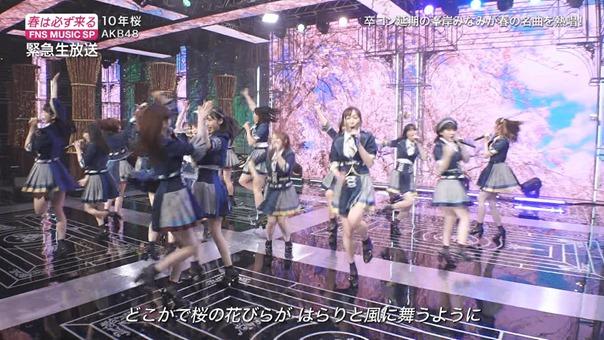 AKB48 - 10nen Zakura   Talk (FNS Ongaku Tokubetsu Bangumi 2020.03.21).ts - 01;02;37.811 - 00002