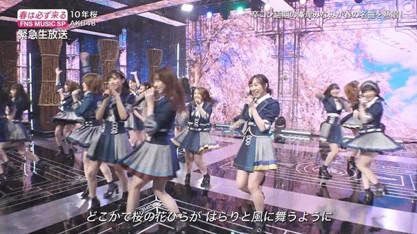 AKB48 - 10nen Zakura   Talk (FNS Ongaku Tokubetsu Bangumi 2020.03.21).ts - 01;02;54.985
