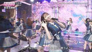 AKB48 - 10nen Zakura   Talk (FNS Ongaku Tokubetsu Bangumi 2020.03.21).ts - 01;03;20.650